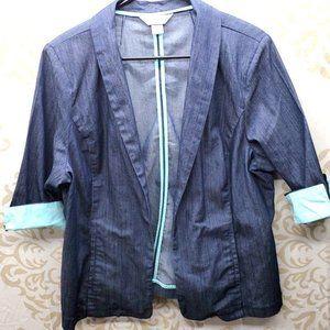 Christopher & Banks Blazer/Jacket Size XL